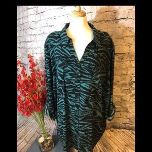 Maggie Barnes Blouse - Animal Print